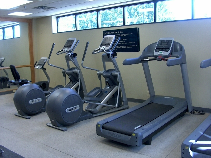 Hotel Fitness Facility at Embassy Suites